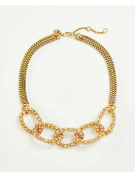 Pave Chain Necklace by Ann Taylor