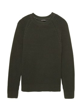 Chunky Crew Neck Sweater by Banana Repbulic