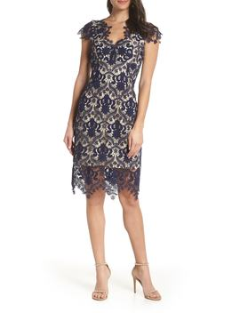 Aliya Lace Sheath Dress by Foxiedox