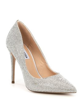 Daisie Crystal Jeweled Pointed Toe Pumps by Steve Madden