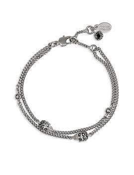Skull Chain Bracelet by Alexander Mcqueen