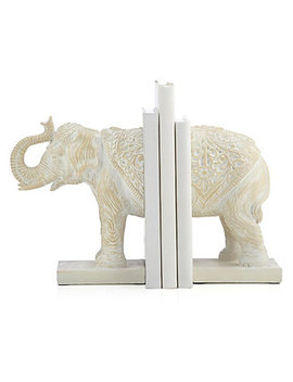Anika Elephant Bookends by Z Gallerie
