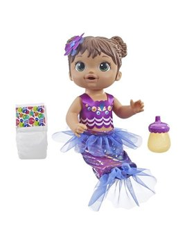 Baby Alive Shimmer 'n Splash Mermaid Baby Doll (Brown Hair) by Baby Alive