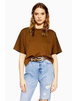 Petite Boxy Fit T Shirt by Topshop