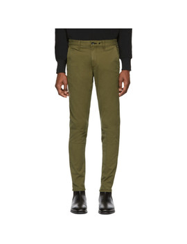 Green Fit 1 Classic Chino Trousers by Rag & Bone