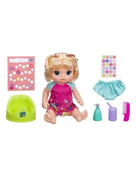 Baby Alive Potty Dance Baby Doll   Blonde Straight Hair by Baby Alive