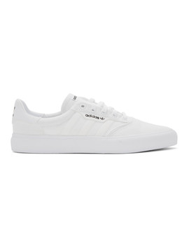White 3 Mc Sneakers by Adidas Originals