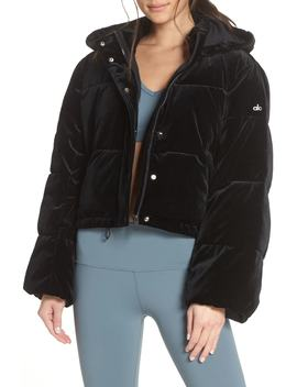 Velvet Puffer Jacket by Alo