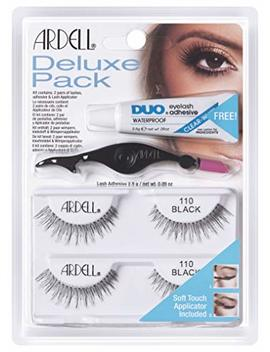 Ardell Deluxe Pack Lash 110, Das Original, Black, 1er Pack (1 X 2 Paar) by Amazon