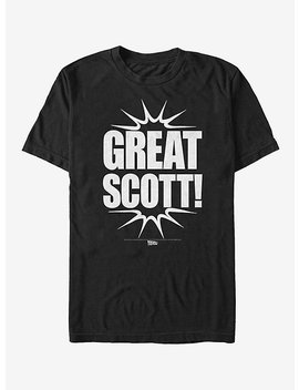 Back To The Future Great Scott T Shirt by Hot Topic