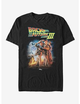 Back To The Future Iii Poster T Shirt by Hot Topic