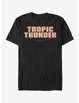 Tropic Thunder Logo T Shirt by Hot Topic