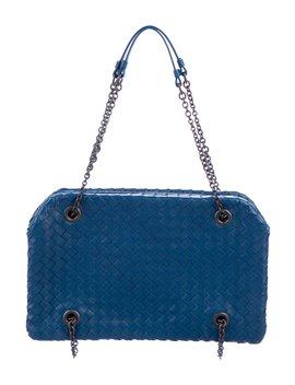 Intrecciato Shoulder Bag by Bottega Veneta