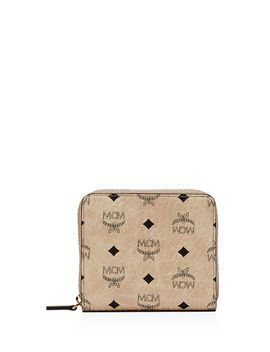 Visetos Zip Wallet by Mcm