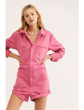 Pop Pink Prophecy One Piece by Free People