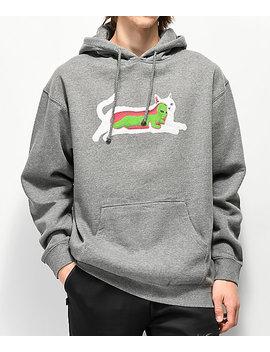 Ripndip Transnerm Grey Hoodie by Ripndip