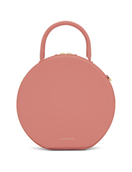 Pink Circle Crossbody Bag by Mansur Gavriel