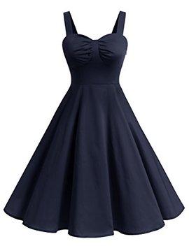 Dresstells 1950s Retro Audrey Swing Pinup Rockabilly Dress Pleated Vintage Dress by Dresstells