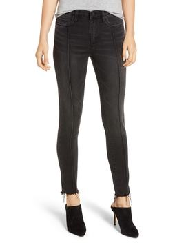 The Reade Pintuck Skinny Jeans by Blanknyc