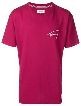 T Shirt Mit Logo by Tommy Jeans