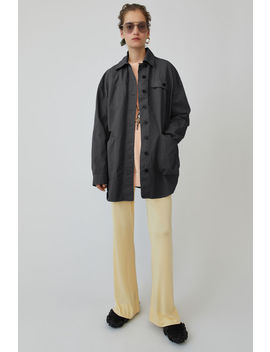 Masculine Shirt Anthracite Grey by Acne Studios