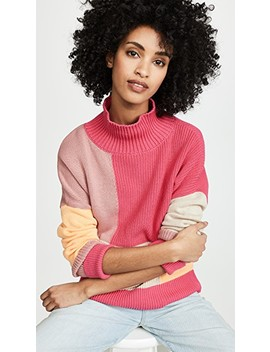 Colorblock Sweater by 525 America
