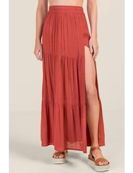 Anaya Cover Up Maxi Skirt by Francesca's