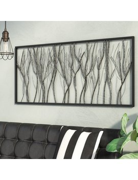 17 Stories Natural Twigs And Branches Iron Wall Décor & Reviews by 17 Stories