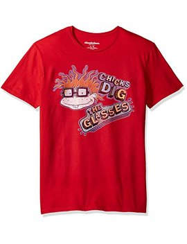 Nickelodeon Men's Rugrats Short Sleeve Graphic T Shirt by Nickelodeon