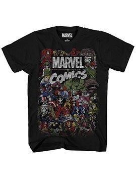 Marvel Men's Comics Crew T Shirt by Marvel