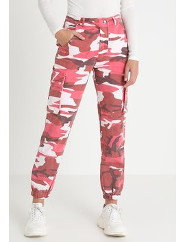 Camo Utility Trouser   Broek by New Look