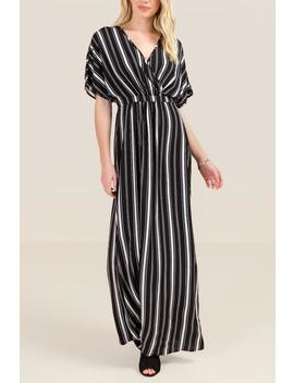 Daniela Striped Maxi Dress by Francesca's