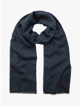 Mulberry Tamara Cotton Scarf, Midnight by Mulberry