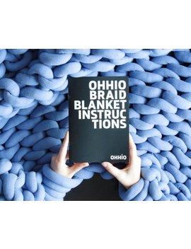 Ohhio Braid Blanket Diy Instructions by Etsy