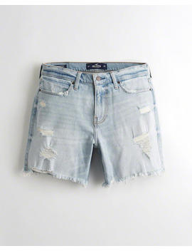 Hollister Epic Flex Relaxed Denim Shorts by Hollister