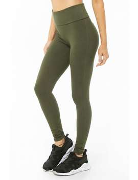 Active Knit Leggings by Forever 21