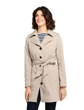Women's Lightweight Trench Coat by Lands' End