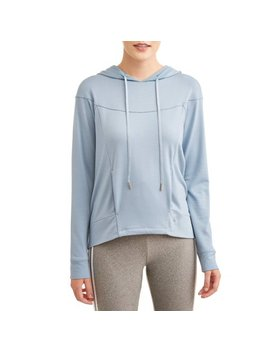 Women's Premium Active Hi Lo French Terry Hoodie by Danskin