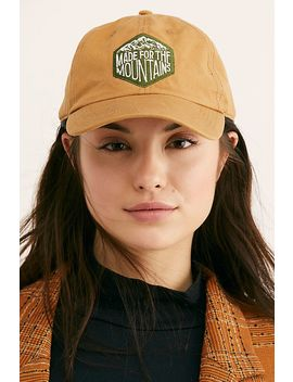 Made For The Mountains Baseball Hat by Free People
