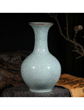 Jingdezhen Ceramic Vase Decoration Living Room Flower Arrangement Antique Flower Vase Desktop Classical Chinese Home Decoration by Miisoa
