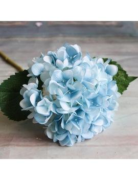 Artificial Flowers 1 Pc Hydrangea Bouquet For Home Decoration Flower Arrangements Wedding Party Decor by Fang & Jane