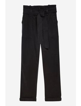 Paperbag Utility Trousers by Topshop