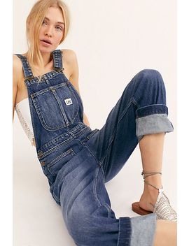 Lee Straight Leg Overalls by Free People