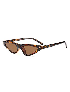 Bozevon Damen Mode Uv Brillen Cool Retro Klassisch Dreieck Sonnenbrille by Amazon