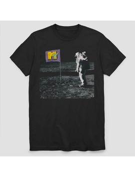 Men's Mtv Short Sleeve Graphic T Shirt   Black by Mtv