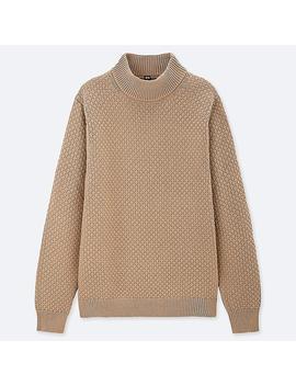 Jersey Cuello Alto Textura Hombre by Uniqlo