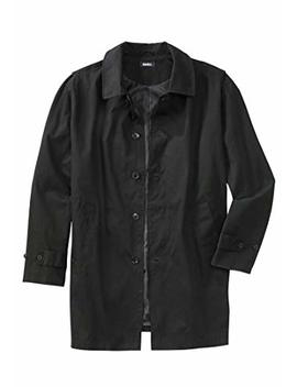 King Size Men's Big & Tall Trench Coat by King Size