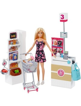 Barbie Supermarket Playset by Barbie