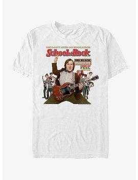 School Of Rock Poster T Shirt by Hot Topic
