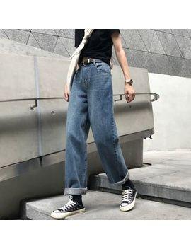 Windflower   High Waist Wide Leg Jeans by Windflower
